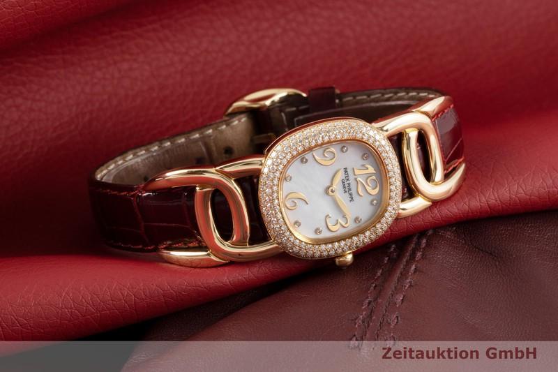 gebrauchte Luxusuhr Patek Philippe Ellipse 18k Gold Quarz Kal. E15 Ref. 4831    2002985 _0