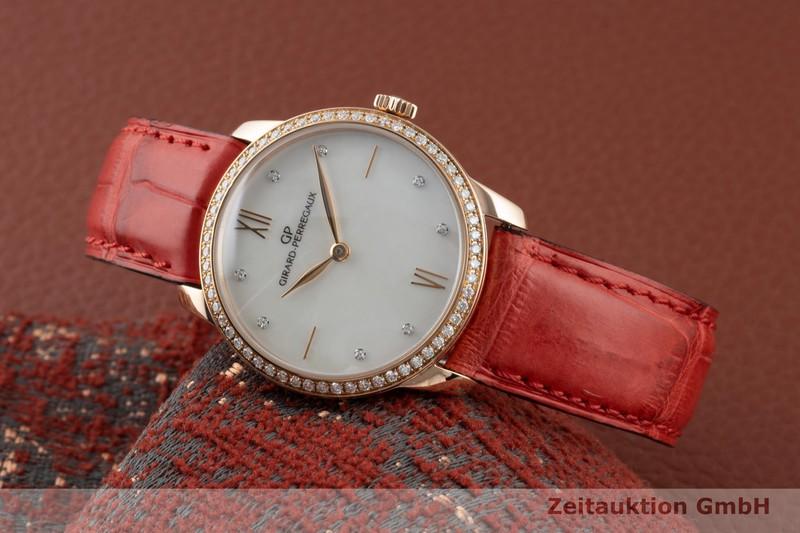 gebrauchte Luxusuhr Girard Perregaux 1966 18k Rotgold Automatik Kal. 3200 Ref. 49528  | 2002993 _0
