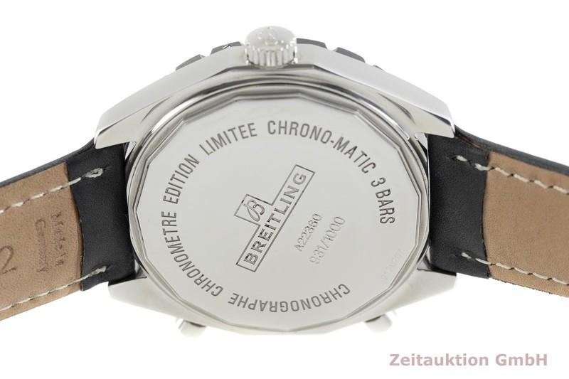 gebrauchte Luxusuhr Breitling Chrono-Matic Chronograph Stahl Automatik Kal. ETA 2892-A2 Ref. A22360 LIMITED EDITION | 2002998 _0