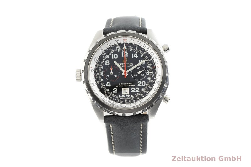 gebrauchte Luxusuhr Breitling Chrono-Matic Chronograph Stahl Automatik Kal. ETA 2892-A2 Ref. A22360 LIMITED EDITION | 2002998 _1