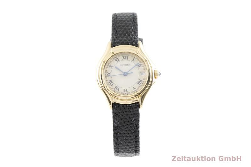 gebrauchte Luxusuhr Cartier Cougar 18k Gold Quarz Kal. 87 Ref. 887921  | 2003020 _1