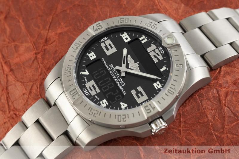 gebrauchte Luxusuhr Breitling Aerospace Chronograph Titan Quarz Kal. B79, ETA E10.451 Ref. E79363  | 2003021 _0