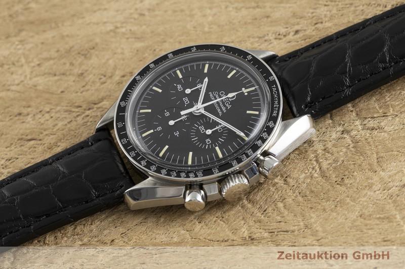 gebrauchte Luxusuhr Omega Speedmaster Moonwatch Chronograph Stahl Handaufzug Kal. 861 Ref. 145.0022, 345.0022    2003025 _0