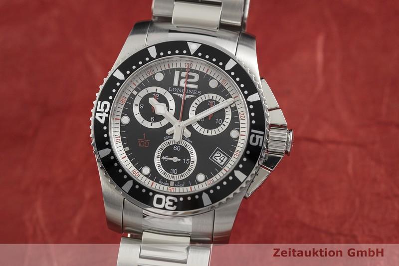 gebrauchte Luxusuhr Longines Hydro Conquest Chronograph Stahl Quarz Ref. L3.743.4    2003034 _0