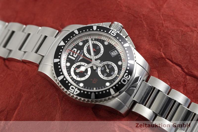 gebrauchte Luxusuhr Longines Hydro Conquest Chronograph Stahl Quarz Ref. L3.743.4    2003034 _1