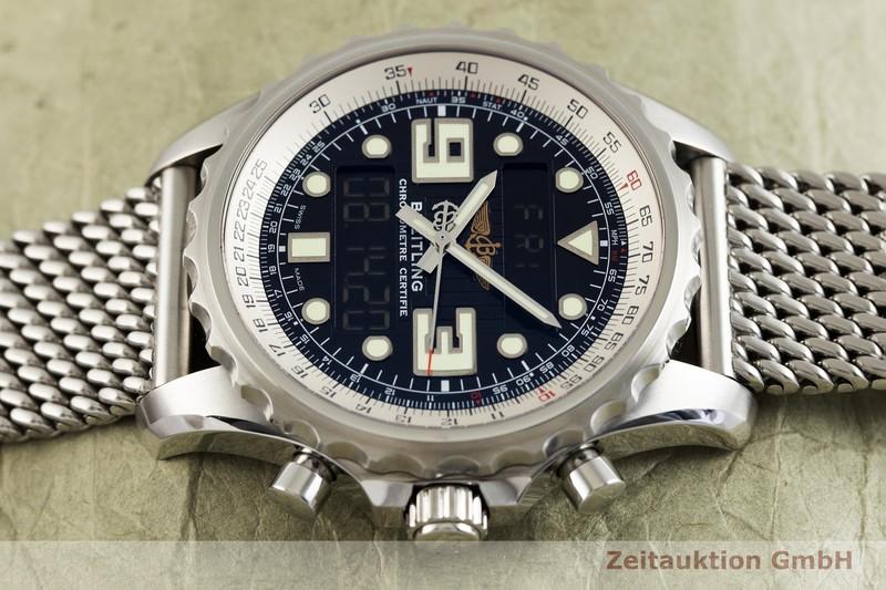 gebrauchte Luxusuhr Breitling Chronospace Chronograph Stahl / Titan Quarz Kal. B78, ETA E20.351 Ref. A78365    2003050 _0