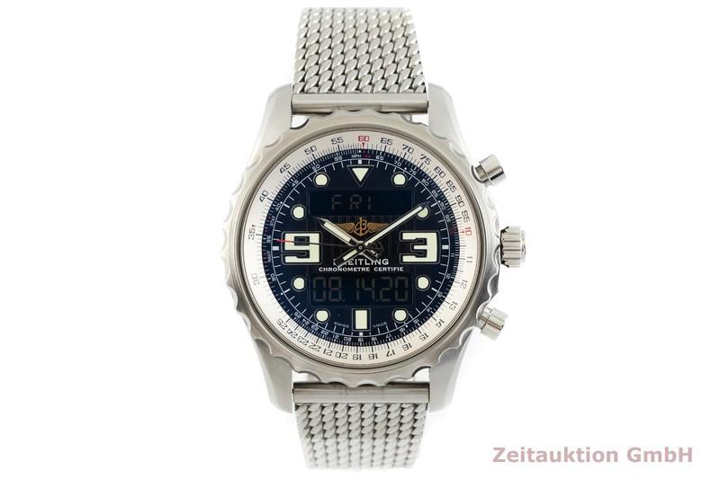 gebrauchte Luxusuhr Breitling Chronospace Chronograph Stahl / Titan Quarz Kal. B78, ETA E20.351 Ref. A78365  | 2003050 _1