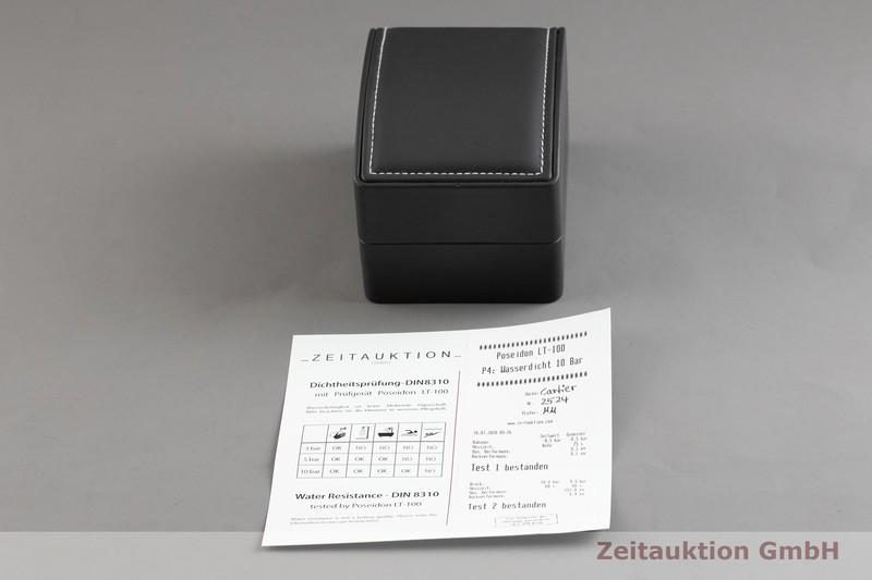 gebrauchte Luxusuhr Cartier Roadster 18k Gold Automatik Kal. 3110, ETA 2892-A2 Ref. 2524  | 2003051 _0