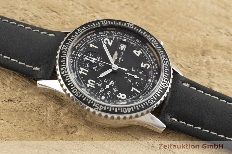 gebrauchte Luxusuhr Breitling Aviastar Chronograph Stahl Automatik Kal. B13, ETA 7750 Ref. A13024  | 2003056 _1