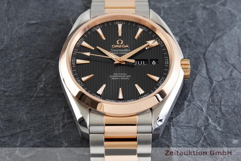 gebrauchte Luxusuhr Omega Seamaster Stahl / Gold Automatik Kal. 8601 Ref. 231.20.43.22.06.002  | 2003059 _1