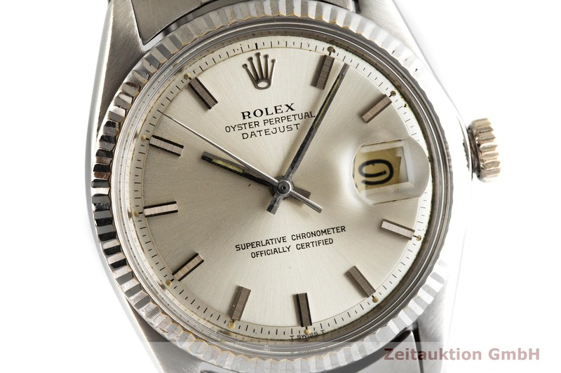 gebrauchte Luxusuhr Rolex Datejust Stahl / Weissgold Automatik Kal. 1570 Ref. 1601 VINTAGE  | 2003062 _0
