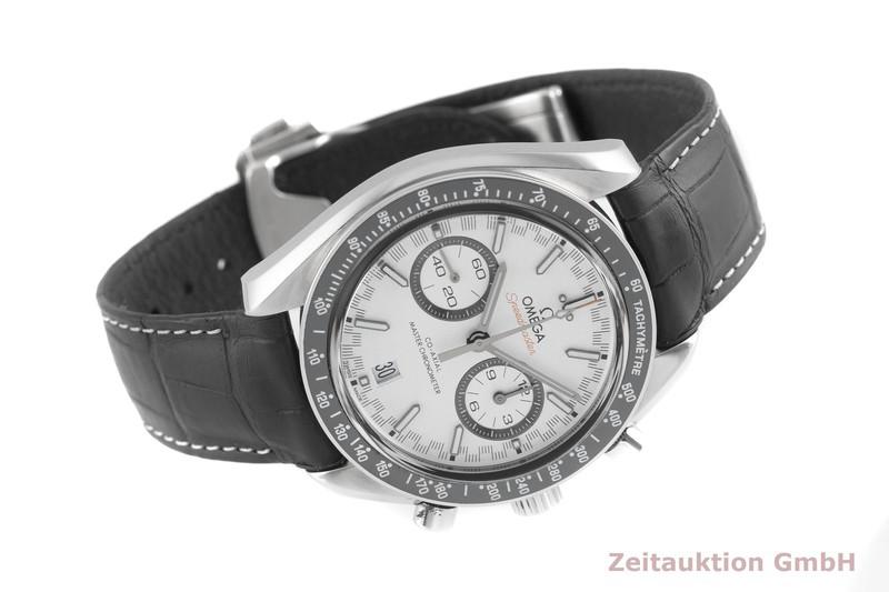gebrauchte Luxusuhr Omega Speedmaster Chronograph Stahl Automatik Kal. 9900 Ref. 329.33.44.51.04.001  | 2003076 _0