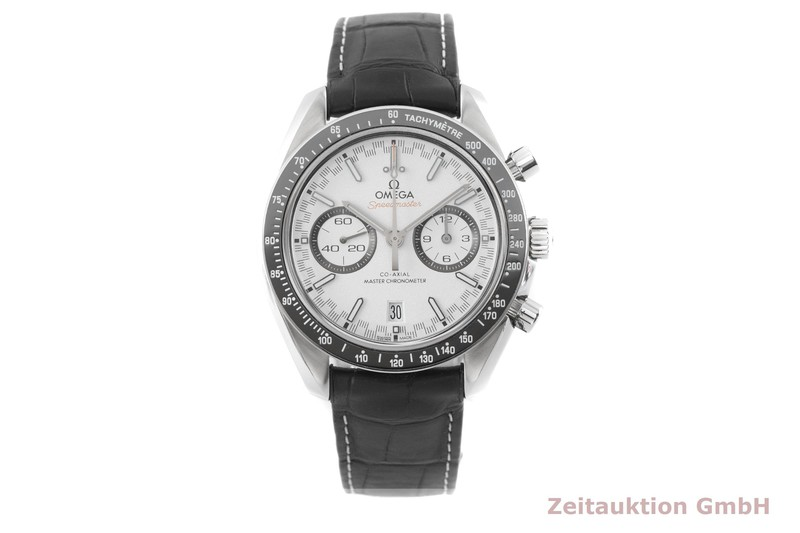 gebrauchte Luxusuhr Omega Speedmaster Chronograph Stahl Automatik Kal. 9900 Ref. 329.33.44.51.04.001  | 2003076 _1