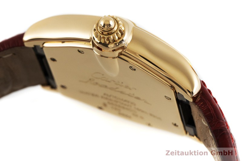 gebrauchte Luxusuhr Cartier Roadster 18k Gold Automatik Kal. 3110, ETA 2892-A2 Ref. 2524  | 2003080 _0