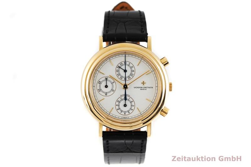 gebrauchte Luxusuhr Vacheron & Constantin Historiques Chronograph 18k Gold Automatik Kal. 1126 Ref. 47001  | 2003103 _1