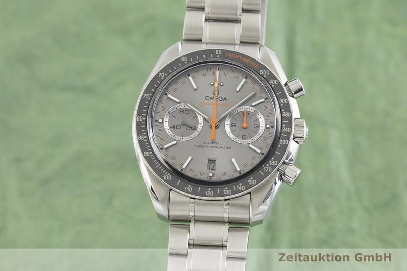 gebrauchte Luxusuhr Omega Speedmaster Racing Chronograph Stahl Automatik Kal. 9900 Ref. 329.30.44.51.06.001  | 2003111 _0