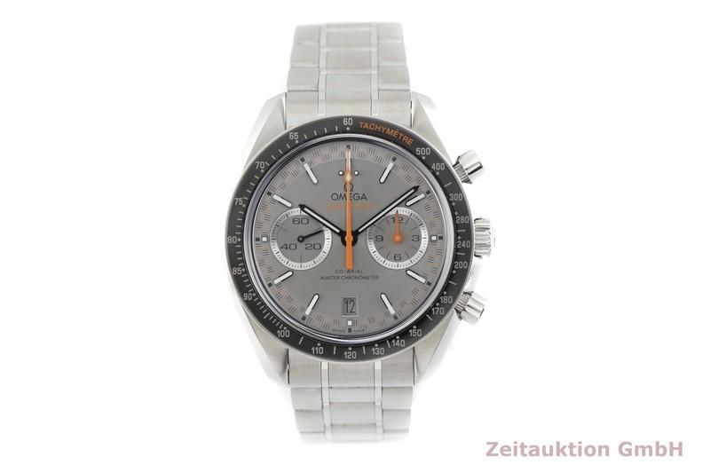 gebrauchte Luxusuhr Omega Speedmaster Racing Chronograph Stahl Automatik Kal. 9900 Ref. 329.30.44.51.06.001  | 2003111 _1