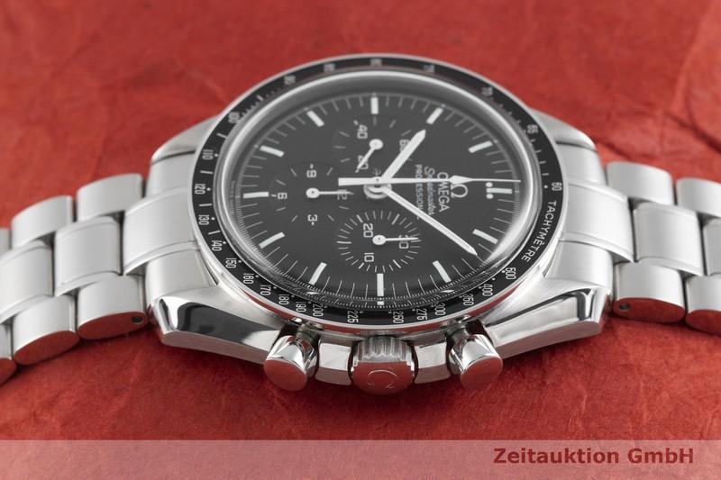 gebrauchte Luxusuhr Omega Speedmaster Moonwatch Chronograph Stahl Handaufzug Kal. 1861 Ref. 35745100 LIMITED EDITION | 2003115 _0