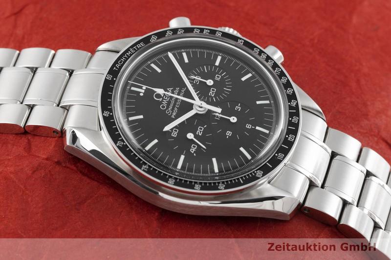 gebrauchte Luxusuhr Omega Speedmaster Moonwatch Chronograph Stahl Handaufzug Kal. 1861 Ref. 35745100 LIMITED EDITION | 2003115 _1