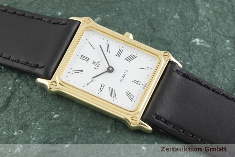 gebrauchte Luxusuhr Ebel * 18k Gold Quarz Kal. ETA 256.111 Ref. 881902    2003119 _1