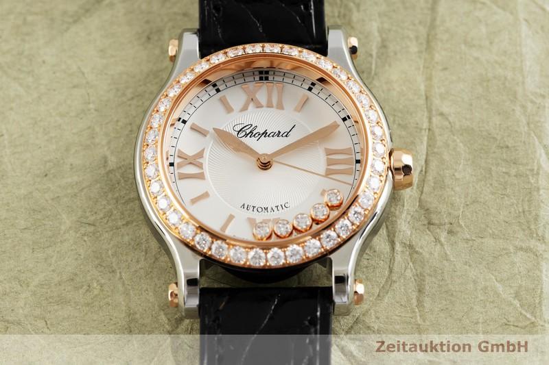 gebrauchte Luxusuhr Chopard Happy Sport Stahl / Gold Automatik Kal. 09.01-C Ref. 278573-6015  | 2003158 _1