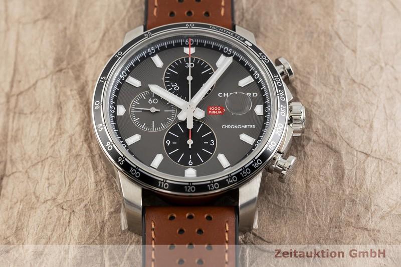 gebrauchte Luxusuhr Chopard 1000 Miglia Chronograph Stahl Automatik Ref. 168571-3004    2003159 _1