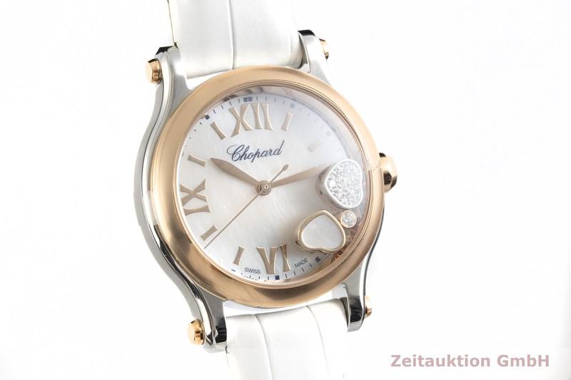 gebrauchte Luxusuhr Chopard Happy Sport Stahl / Gold Quarz Ref. 278590-6005  | 2003162 _0