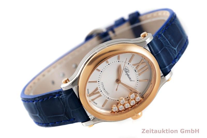 gebrauchte Luxusuhr Chopard Happy Sport Stahl / Gold Automatik Kal. 09.01-C Ref. 278602-6001  | 2003163 _0
