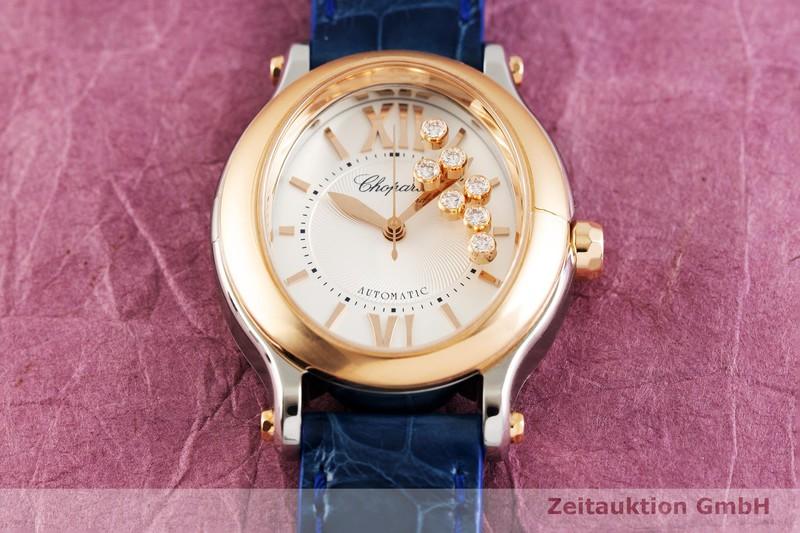 gebrauchte Luxusuhr Chopard Happy Sport Stahl / Gold Automatik Kal. 09.01-C Ref. 278602-6001  | 2003163 _1
