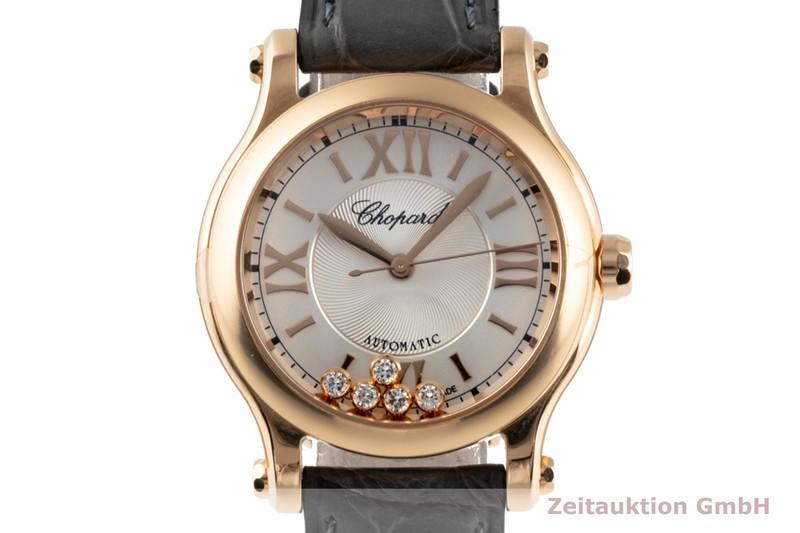 gebrauchte Luxusuhr Chopard Happy Sport 18k Rotgold Automatik Kal. 09.01-C Ref. 274893-5011  | 2003165 _0