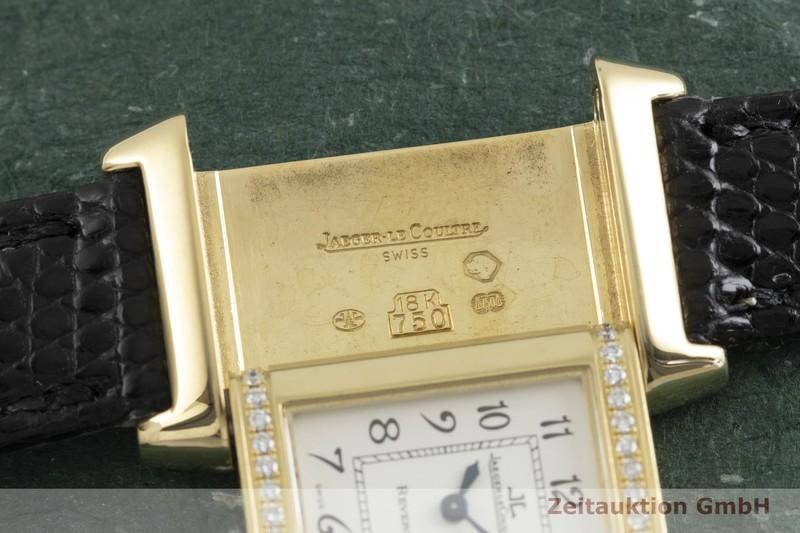 gebrauchte Luxusuhr Jaeger LeCoultre Reverso 18k Gold Quarz Kal. 1137  | 2003180 _1