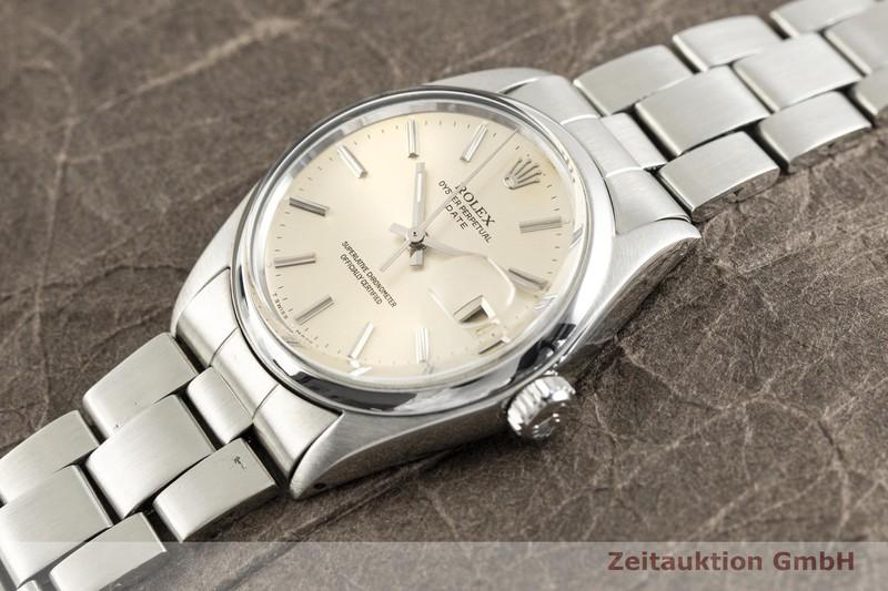 gebrauchte Luxusuhr Rolex Date Stahl Automatik Kal. 1570 Ref. 1500 VINTAGE  | 2003203 _0