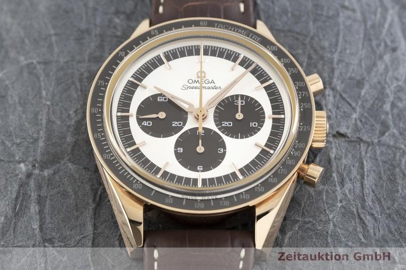 gebrauchte Luxusuhr Omega Speedmaster Chronograph 18k Rotgold Handaufzug Kal. 1861 Ref. 311.63.40.30.02.001  | 2003208 _1