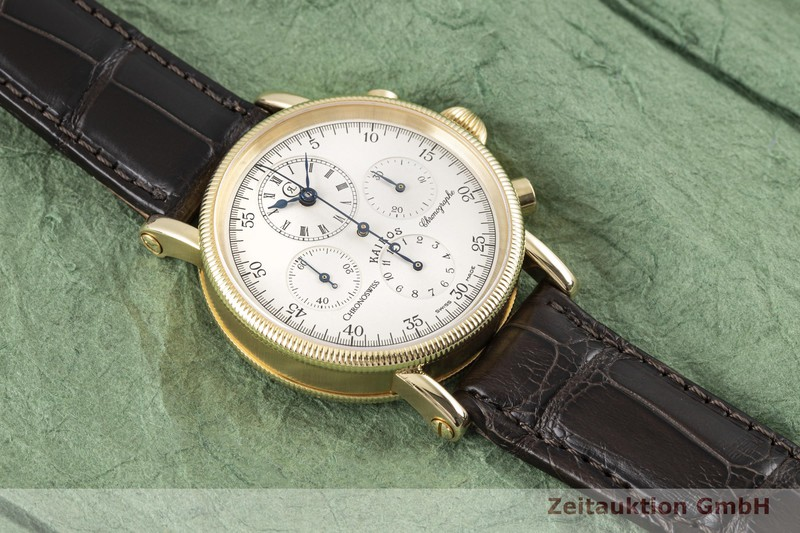 gebrauchte Luxusuhr Chronoswiss Kairos Chronograph 18k Gold Handaufzug Kal. Valjoux 726 Ref. CH7221  | 2003209 _1