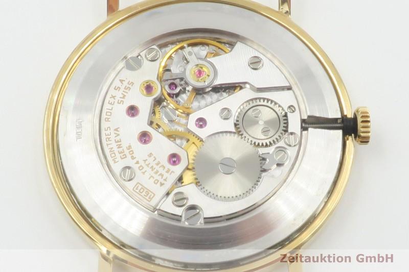 gebrauchte Luxusuhr Rolex Cellini 18k Gold Handaufzug Kal. 1061 Ref. 5112  | 2003222 _1