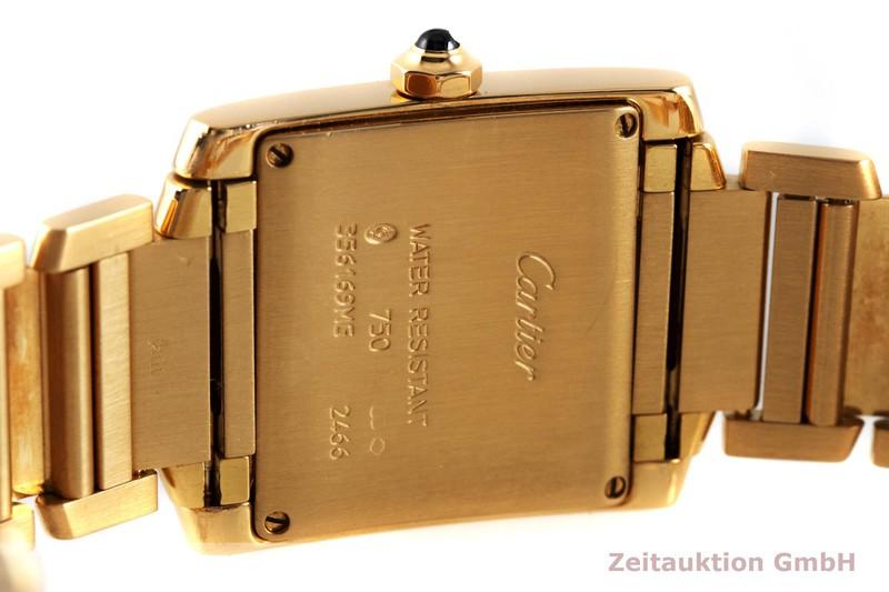 gebrauchte Luxusuhr Cartier Tank Francaise 18k Gold Quarz Kal. 175 Ref. 2466  | 2003227 _0