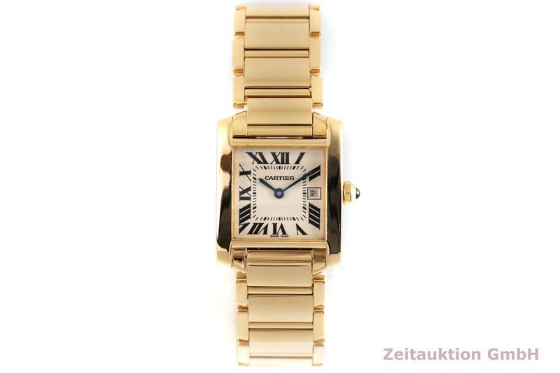 gebrauchte Luxusuhr Cartier Tank Francaise 18k Gold Quarz Kal. 175 Ref. 2466  | 2003227 _1