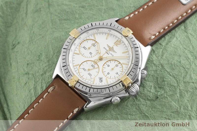 gebrauchte Luxusuhr Breitling Sextant Chronograph Stahl / Gold Quarz Kal. 1270 Ref. B55045  | 2003229 _0