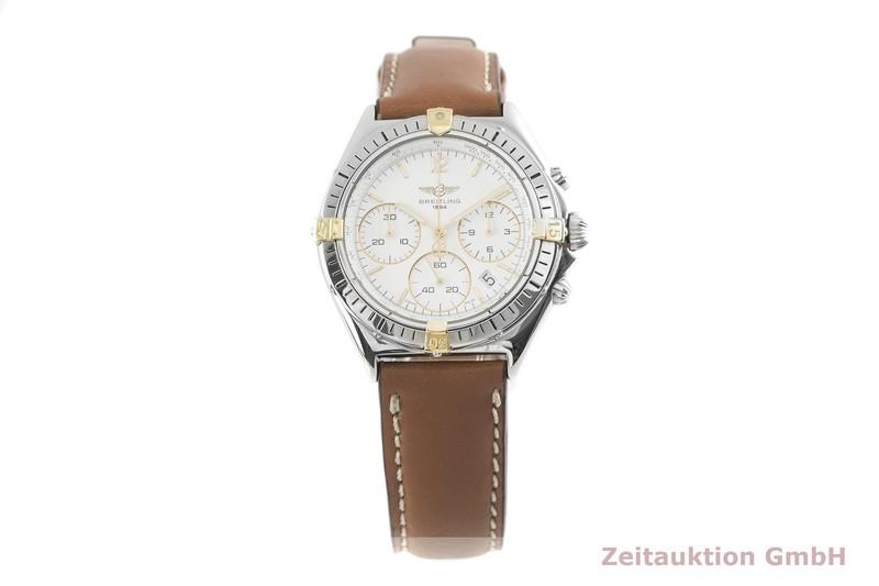 gebrauchte Luxusuhr Breitling Sextant Chronograph Stahl / Gold Quarz Kal. 1270 Ref. B55045  | 2003229 _1