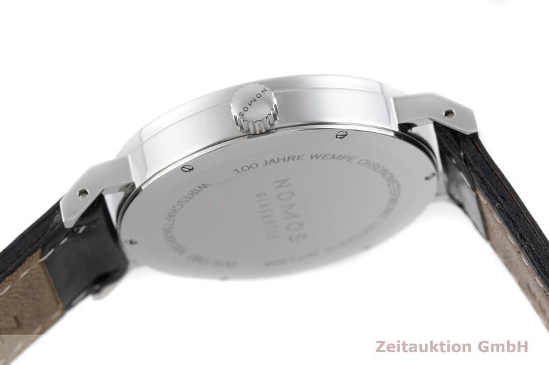 gebrauchte Luxusuhr Nomos Tangente Sport Stahl Handaufzug Kal. Alpha LIMITED EDITION | 2003235 _0