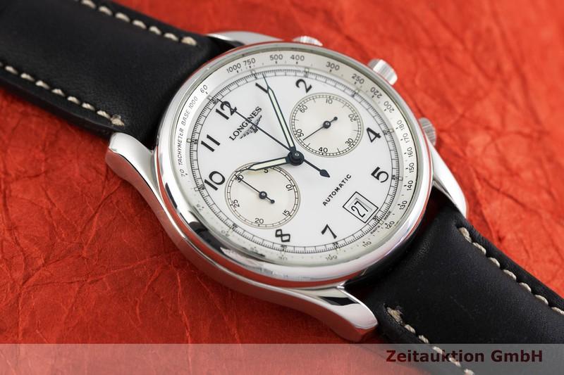 gebrauchte Luxusuhr Longines Weems Chronograph Chronograph Stahl Automatik Kal. L651.3, ETA 2894-2 Ref. L2.612.4 LIMITED EDITION | 2003246 _1