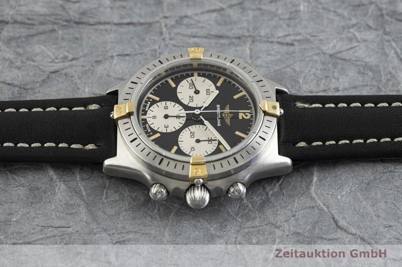 gebrauchte Luxusuhr Breitling Callisto Chronograph Stahl / Gold Handaufzug Kal. Lemania 1873 Ref. 80520N  | 2003249 _0