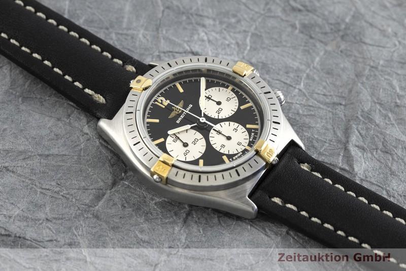 gebrauchte Luxusuhr Breitling Callisto Chronograph Stahl / Gold Handaufzug Kal. Lemania 1873 Ref. 80520N  | 2003249 _1