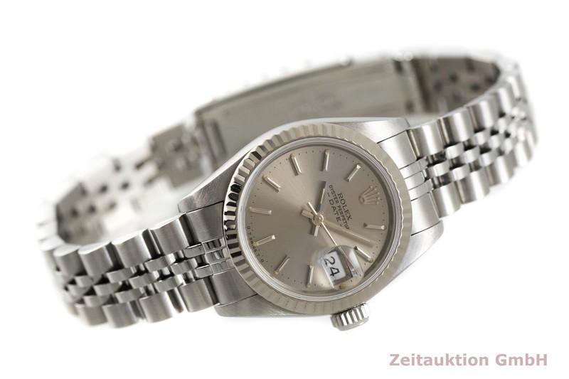 gebrauchte Luxusuhr Rolex Lady Date Stahl / Weissgold Automatik Kal. 2135 Ref. 69174    2003260 _0