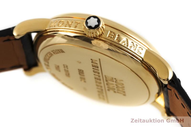 gebrauchte Luxusuhr Montblanc Meisterstück 18k Gold Handaufzug Kal. 4810.901, ETA 7001 Ref. 7007  | 2003274 _0