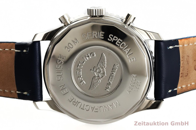 gebrauchte Luxusuhr Breitling Navitimer Chronograph Stahl Automatik Kal. B39, ETA 2892-A2 Ref. A39022  | 2003275 _0