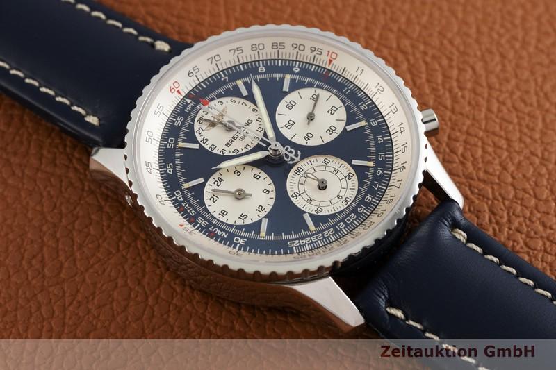 gebrauchte Luxusuhr Breitling Navitimer Chronograph Stahl Automatik Kal. B39, ETA 2892-A2 Ref. A39022  | 2003275 _1