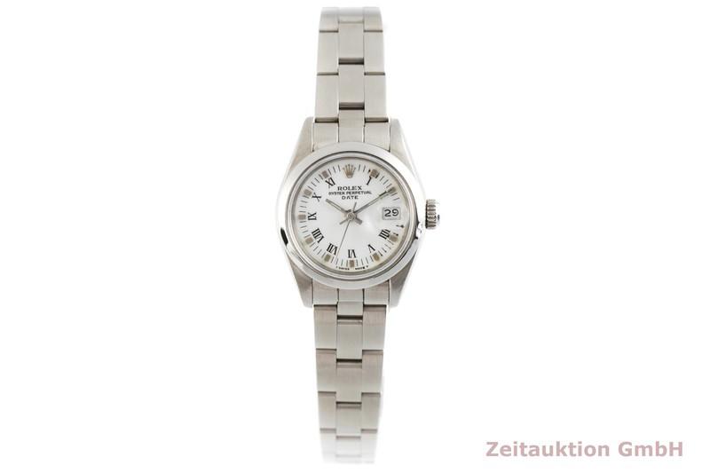 gebrauchte Luxusuhr Rolex Lady Date Stahl Automatik Kal. 2135 Ref. 69160  | 2003276 _1