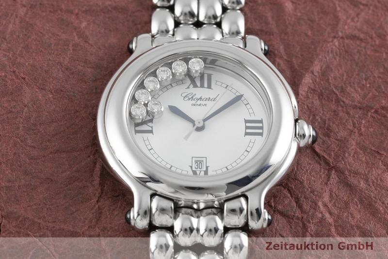 gebrauchte Luxusuhr Chopard Happy Sport Stahl Quarz Kal. ETA 956.112 Ref. 27/8236-23  | 2003313 _1