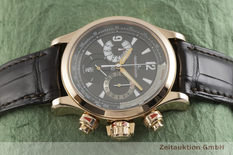 gebrauchte Luxusuhr Jaeger LeCoultre Master Compressor Chronograph 18k Rotgold Automatik Kal. 751 Ref. 146.2.25  | 2003314 _0